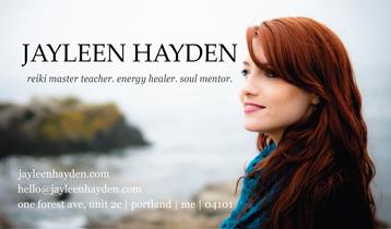 Jayleen Hayden: Reiki Master Teacher, Energy Healer, Soul Mentor