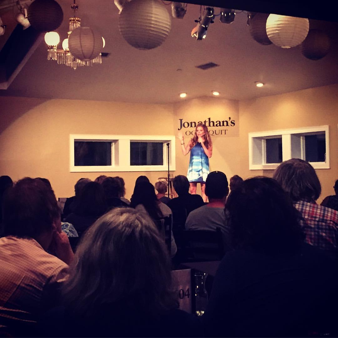 Vicki Monroe at Jonathan's Ogunquit Event